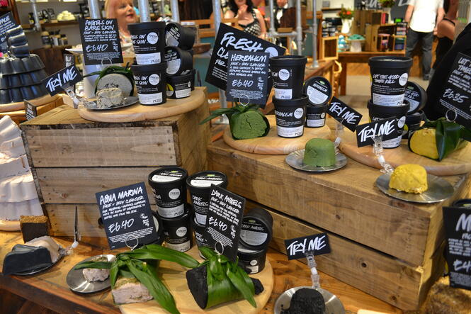 How Lush creates the right retail experience