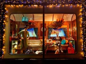 Harrods show window display