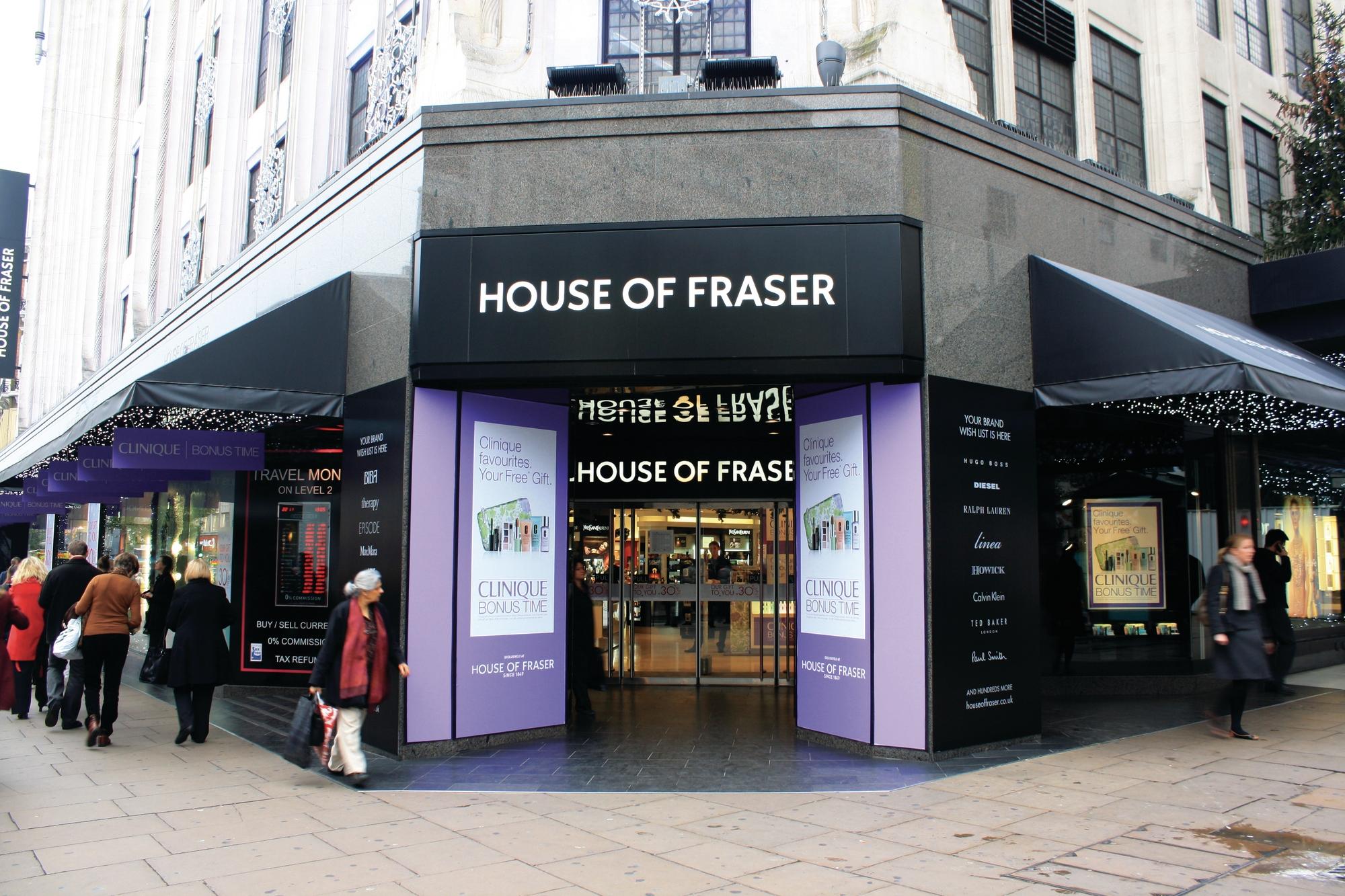 House of Fraser KSF Global
